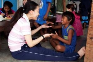 フィリピン WISH HOUSE 訪問ボランティア